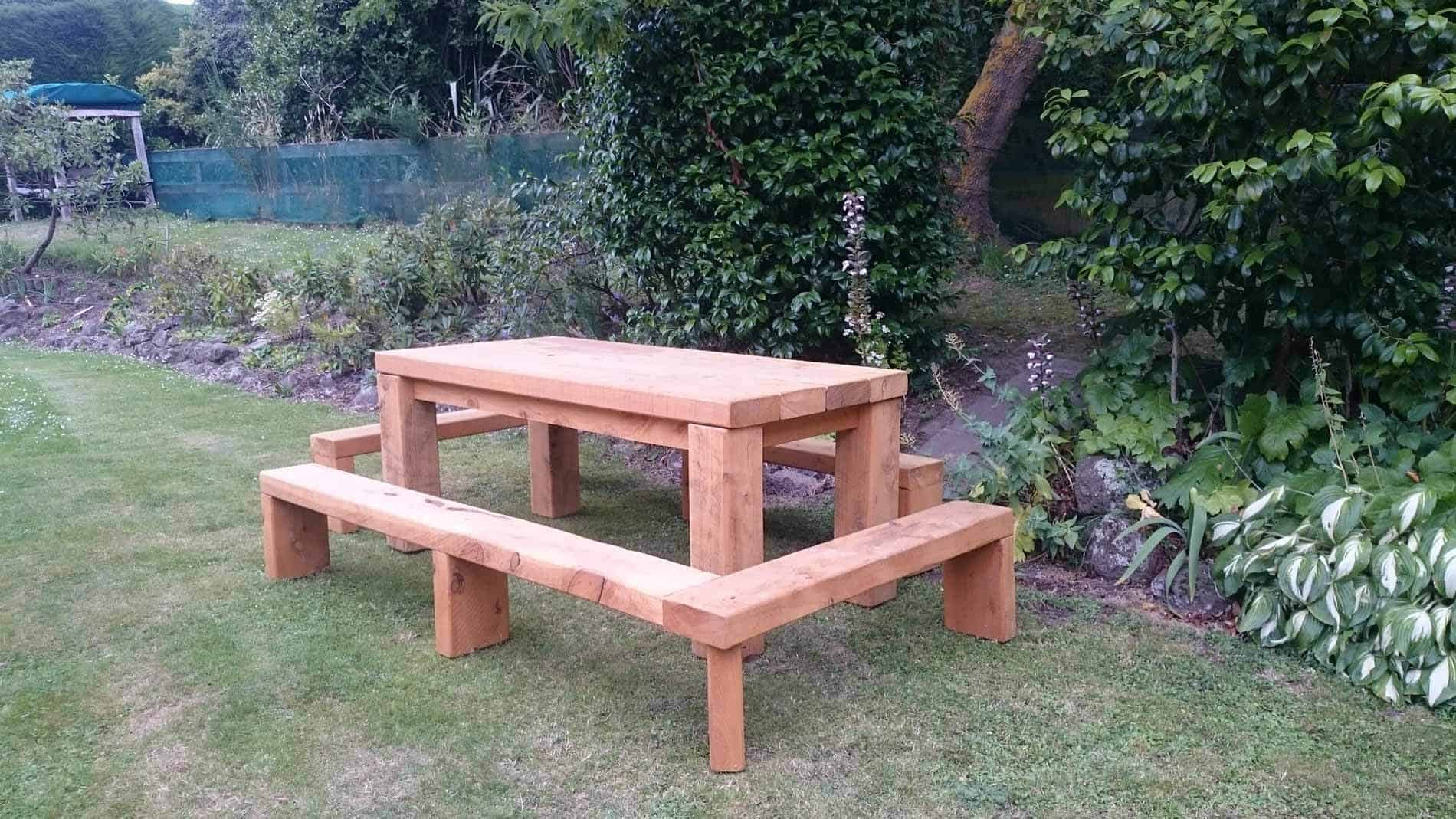 Macrocarpa Outdoor Dining SetCustom Made Furniture  No Boundaries Furniture  Christchurch. Dining Room Bench Seat Nz. Home Design Ideas